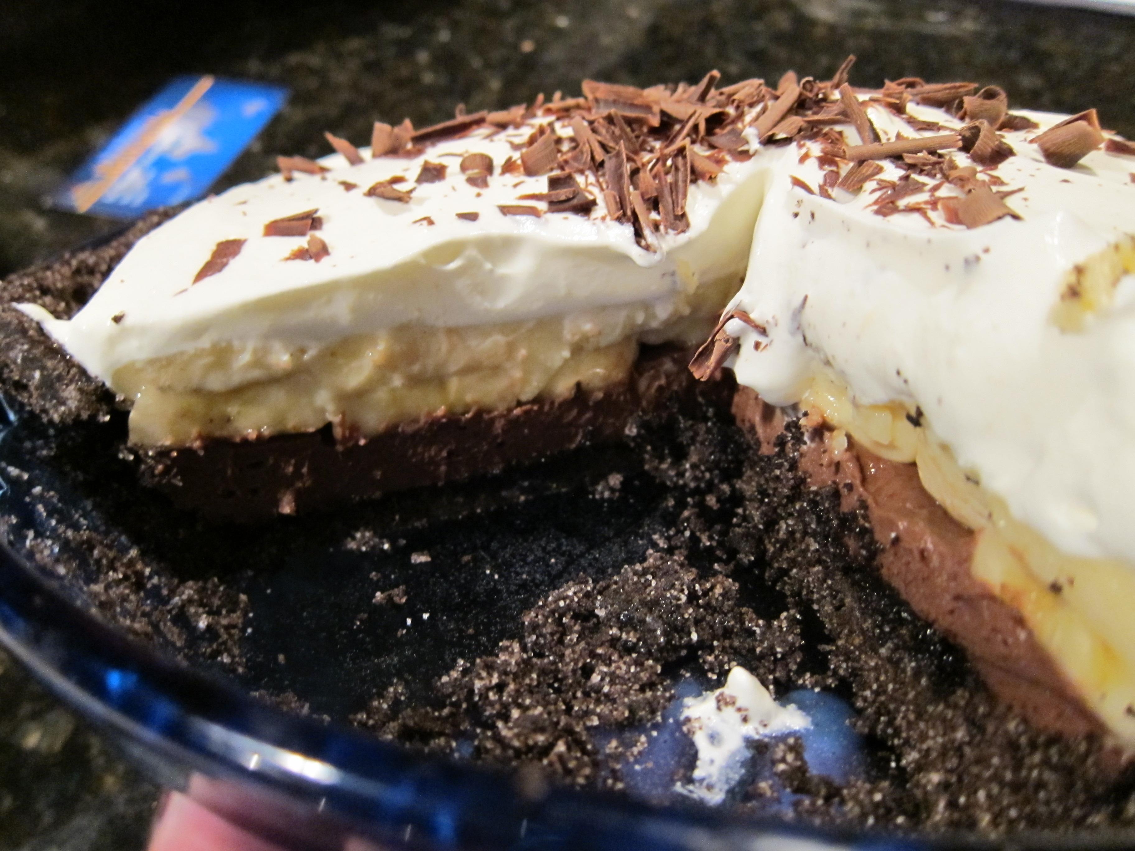 banana cream pie recipe | Dinner With Weijia