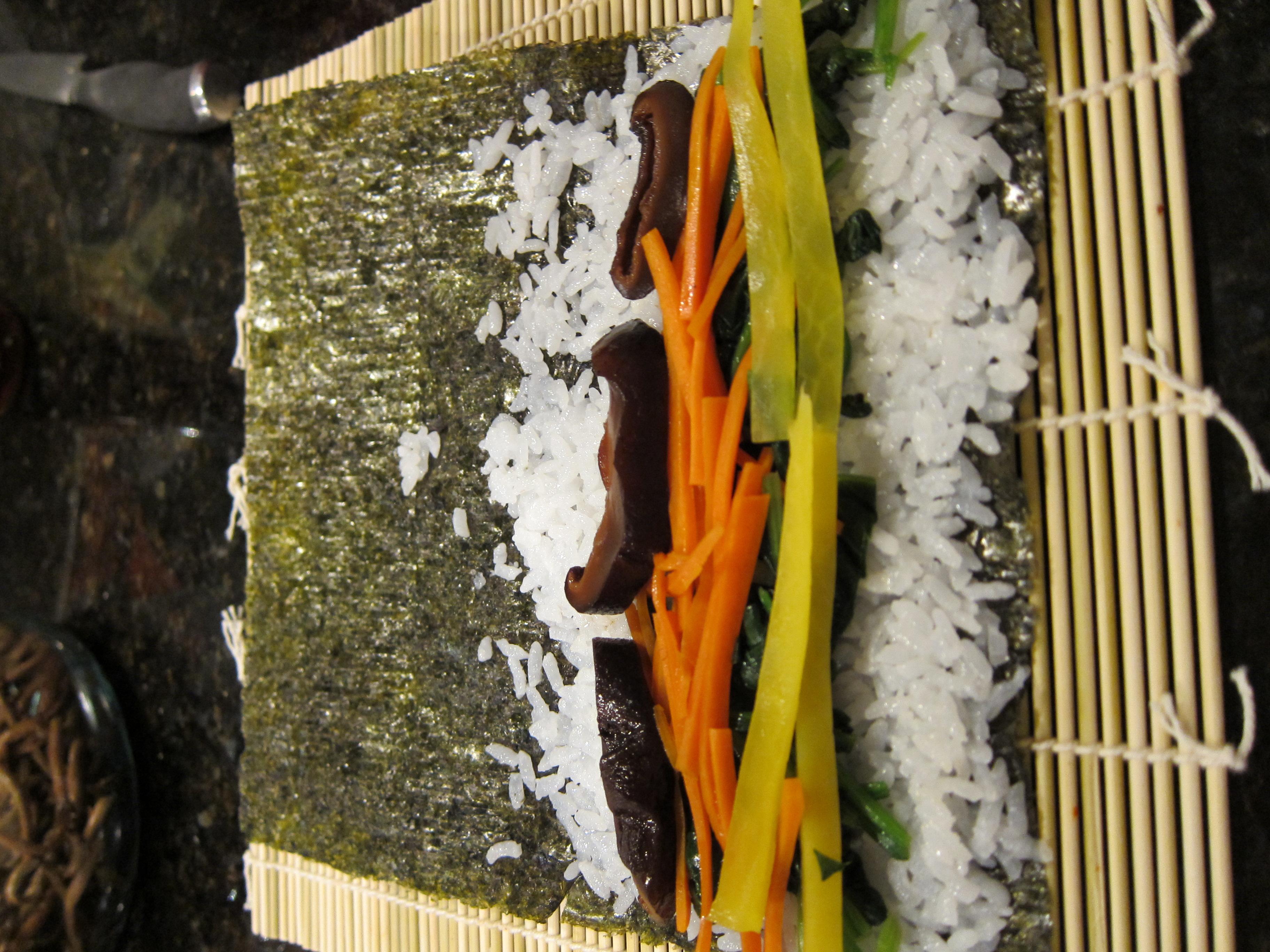 ... , Kimbap, Beef Bulgogi, and Seafood Pancake) | Dinner With Weijia