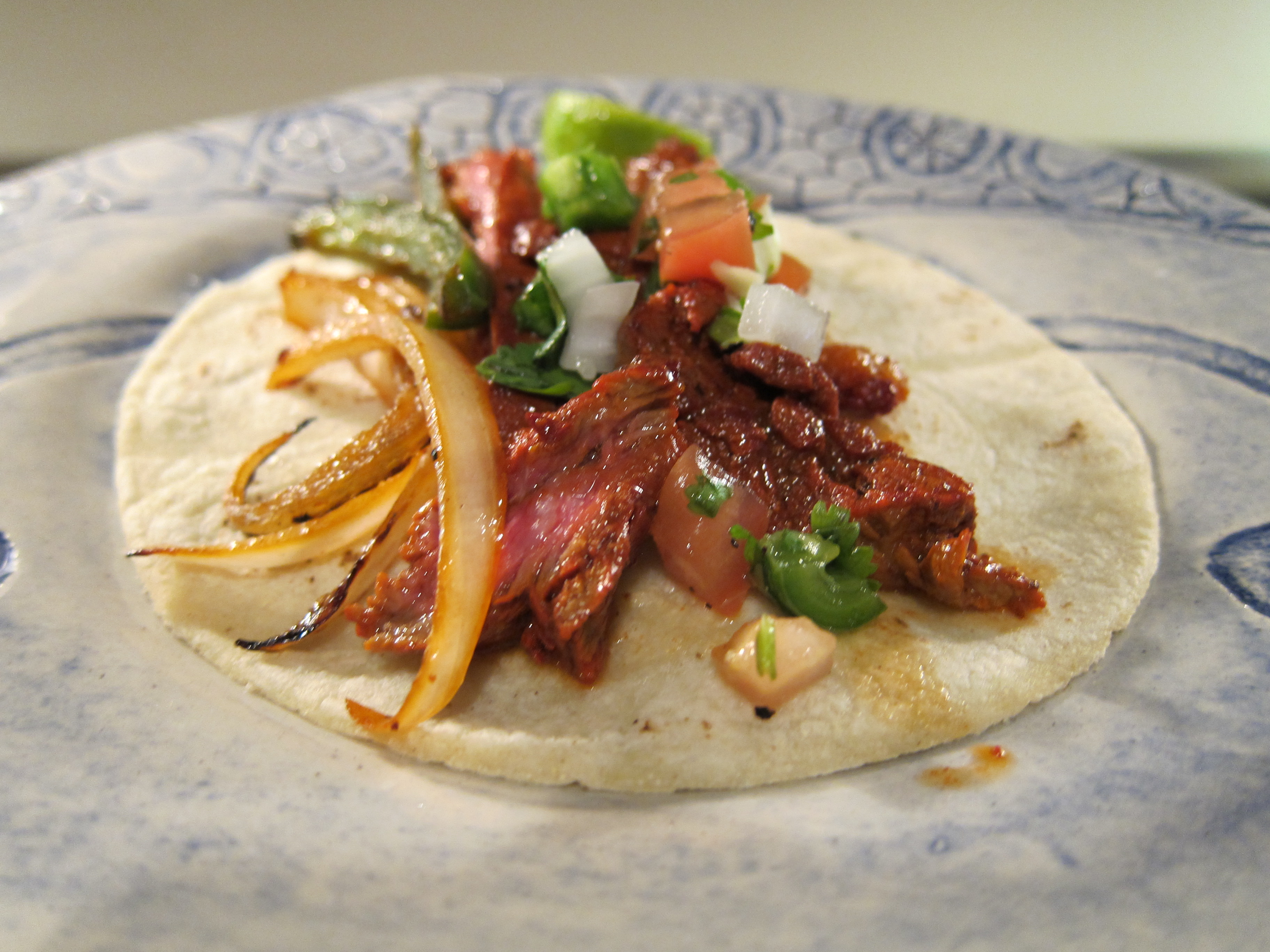 how to make steak taco meat
