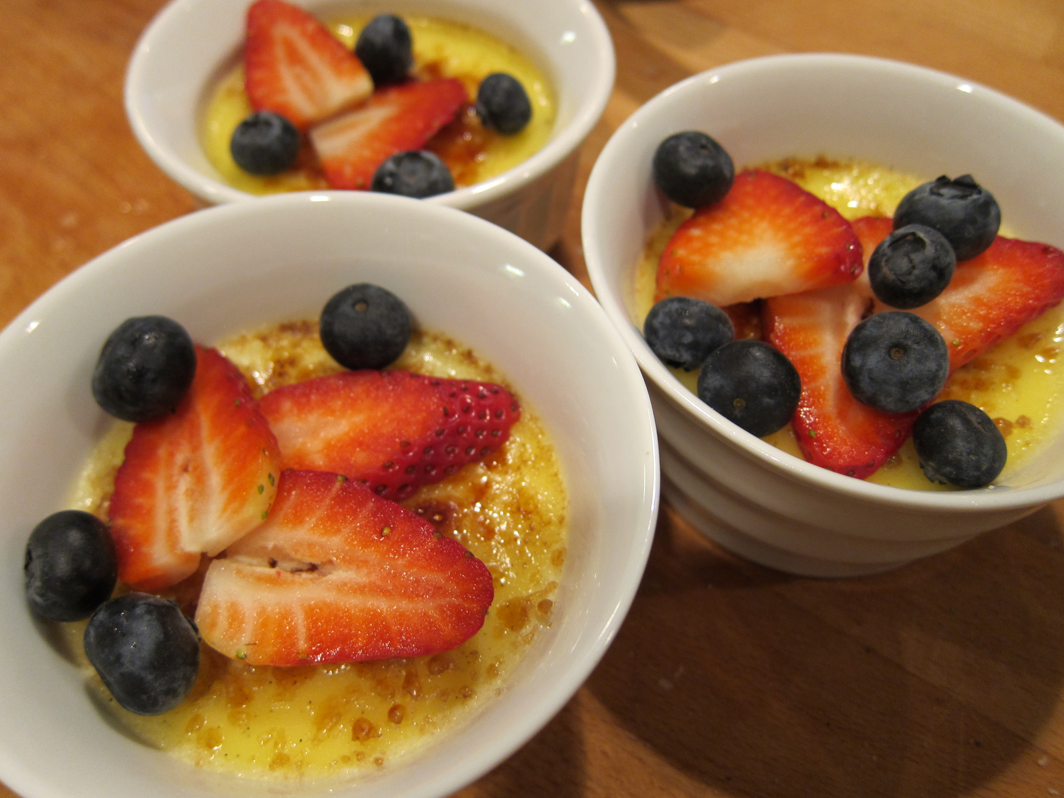 Brulee Recipe Berries Creme Brulee Recipe
