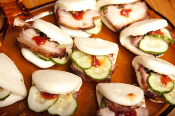 Braised Pork Belly Appetizer Dinner With Weijia