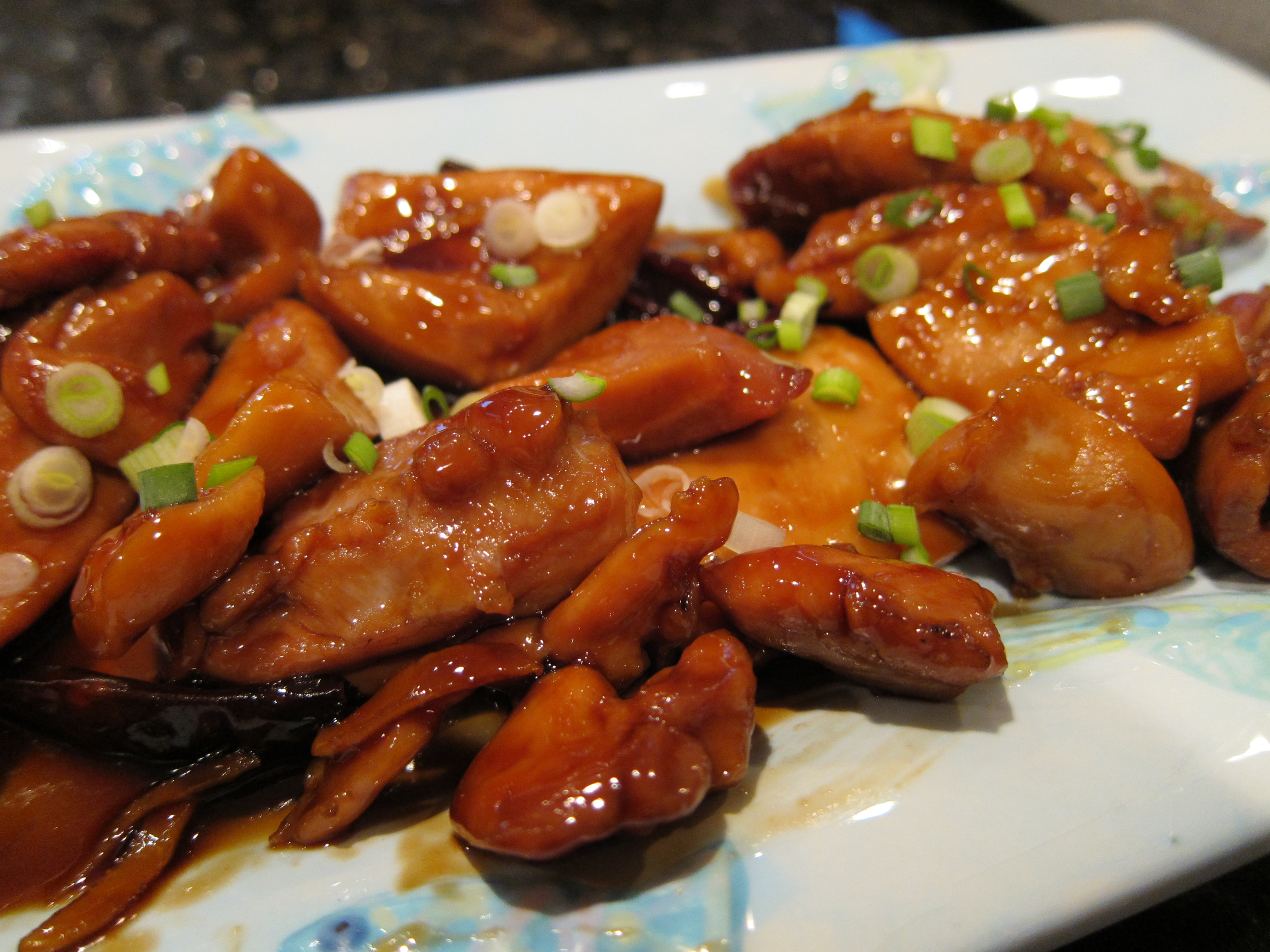 Spicy and sticky chicken thighs dinner with weijia one pot sticky chicken wing recipe forumfinder Choice Image