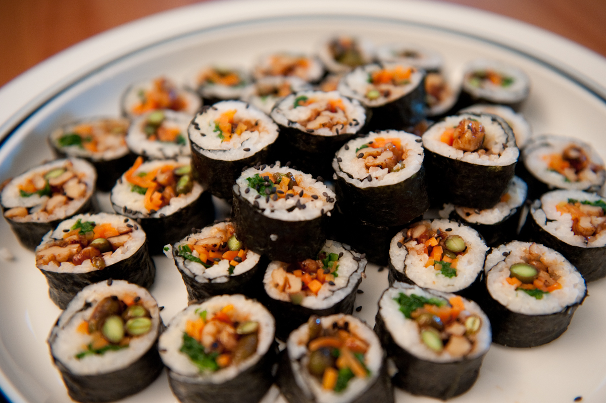 Image gallery kimbap recipe for J kitchen korean japanese restaurant